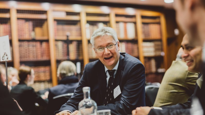 Andrew Morris at Industry Engagement Event